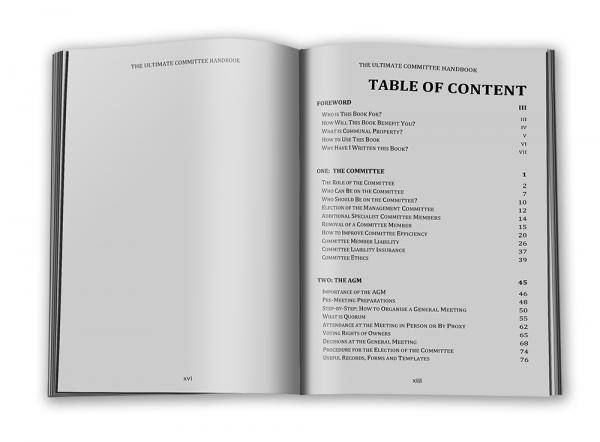 Ultimate Committee Handbook - Contents 1
