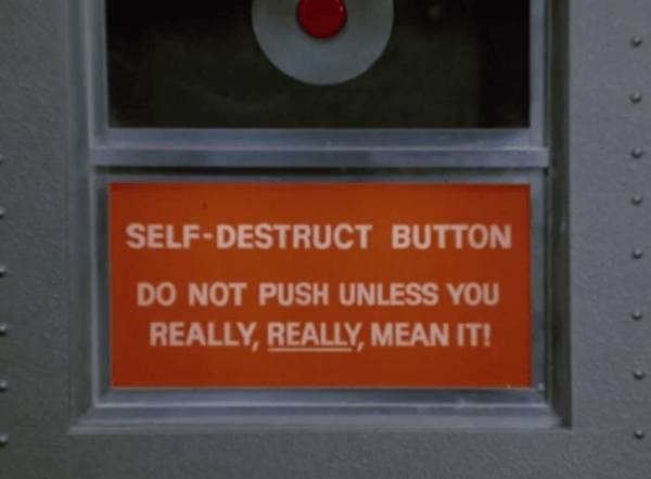 Committee Self Destruct Button