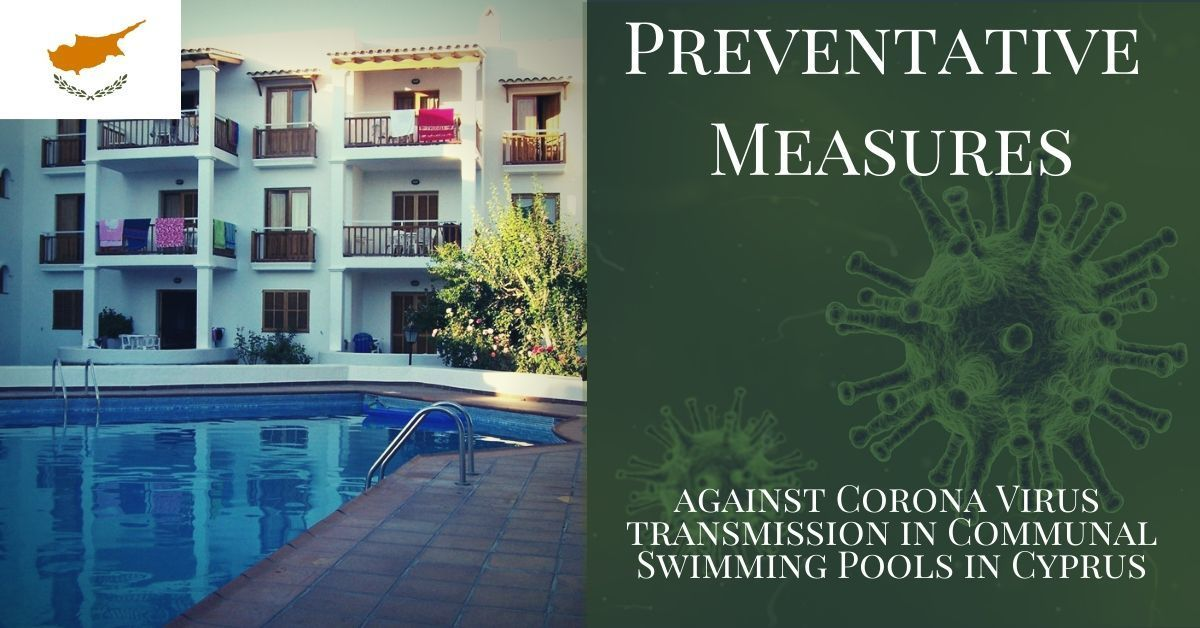 Coronavirus Prevention in Shared Communal Swimming Pools